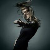 Fashion portrait of the beautiful woman Stock Photography