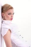 Fashion Portrait of beautiful woman Royalty Free Stock Photos