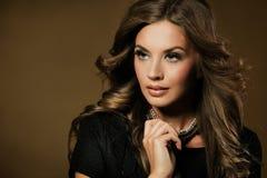 Fashion portrait of beautiful woman Royalty Free Stock Photo