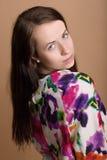 Fashion portrait of beautiful young girl Stock Photo
