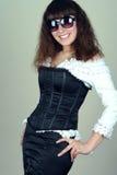 Fashion portrait of a beauty woman Stock Image