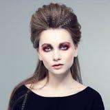 Fashion portrait. Stock Photos