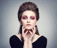Fashion portrait. Royalty Free Stock Photography