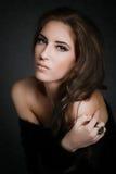 Fashion Portrait Of Luxury Woman Stock Photography
