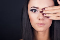 Fashion portrait of a model Royalty Free Stock Images