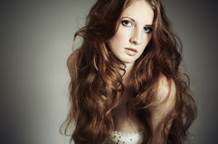 Free Fashion Portrait Of A Young Beautiful Woman Royalty Free Stock Images - 19004679