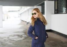 Fashion portrait of pretty hipster girl Stock Photo