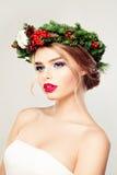 Fashion Portrait of Pretty Woman Stock Photos