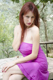 Fashion portrait of sensual young woman Royalty Free Stock Photos