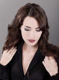 Fashion portrait of sensuous woman Stock Photography