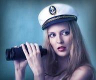 Fashion portrait of woman Stock Photos