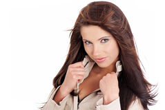Fashion portrait of sexy woman Royalty Free Stock Images