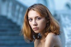 Fashion portrait shoot of a beautiful teen girl Royalty Free Stock Image