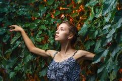 Fashion portrait shoot of a beautiful teen girl Royalty Free Stock Photos