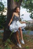 Fashion portrait shoot of beautiful teen girl Royalty Free Stock Image