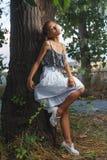 Fashion portrait shoot of beautiful teen girl Royalty Free Stock Photos