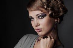 Fashion portrait in studio Stock Photo