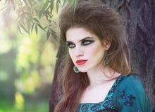 Fashion portrait style Boho Stock Photo