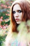 Fashion portrait style Boho Royalty Free Stock Images