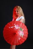 Fashion portrait of woman Stock Photography