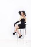 Fashion portrait of a woman Stock Photo