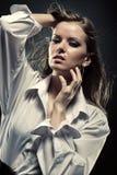 fashion portrait woman young Στοκ φωτογραφίες με δικαίωμα ελεύθερης χρήσης