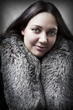 Fashion portrait of young adult  woman Royalty Free Stock Images