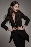 Fashion portrait of young asian woman Stock Image