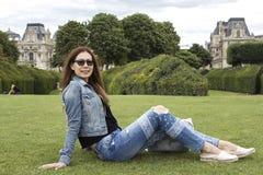 Fashion portrait of young beautiful woman. Royalty Free Stock Photo
