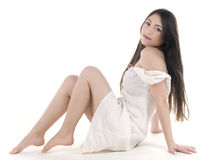 Fashion portrait of young woman Royalty Free Stock Images
