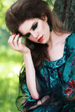 Fashion portrait Royalty Free Stock Photography
