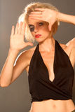 Fashion portraits Stock Images