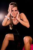 Fashion pose. Stock Photos