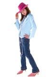 Fashion pose child. Stock Images
