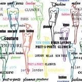 Fashion poster Royalty Free Stock Photo