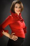 Fashion pregnant Royalty Free Stock Photos