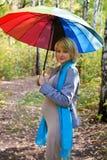 Fashion pregnant woman Stock Photos