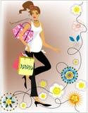 Fashion pregnant woman Royalty Free Stock Photos