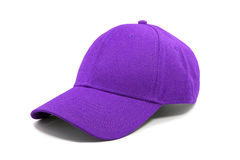 Fashion purple cap isolated