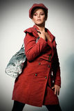 Fashion in red Stock Photos