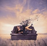 Fashion and relax Stock Photos