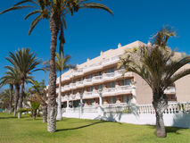 Fashion resort hotels of Tenerife Stock Images
