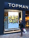 Fashion retailer Topman Stock Image