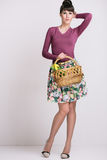 Fashion retro spring style Stock Photo