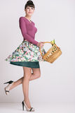 Fashion retro spring style Stock Photography