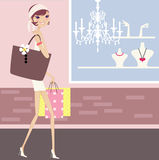 Fashion sale. And fashion beauty stock illustration