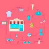 Fashion and Sale Concept Stock Images