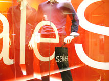 Fashion sale display royalty free stock photography