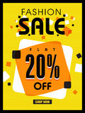 Fashion Sale Poster, Banner or Flyer Design. Royalty Free Stock Photo
