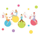 Fashion sale Stock Photo